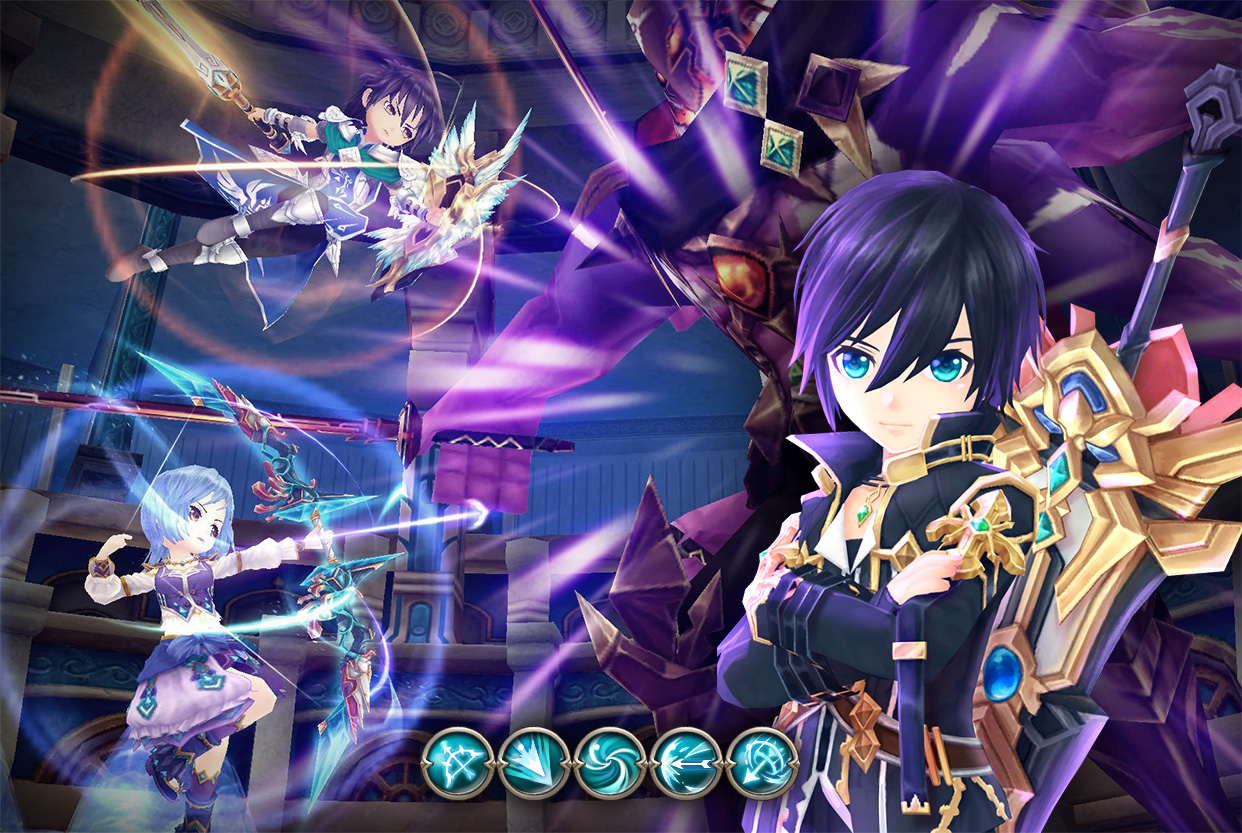 Crown Four Kingdoms   Anime-style Kingdom War Mobile MMORPG