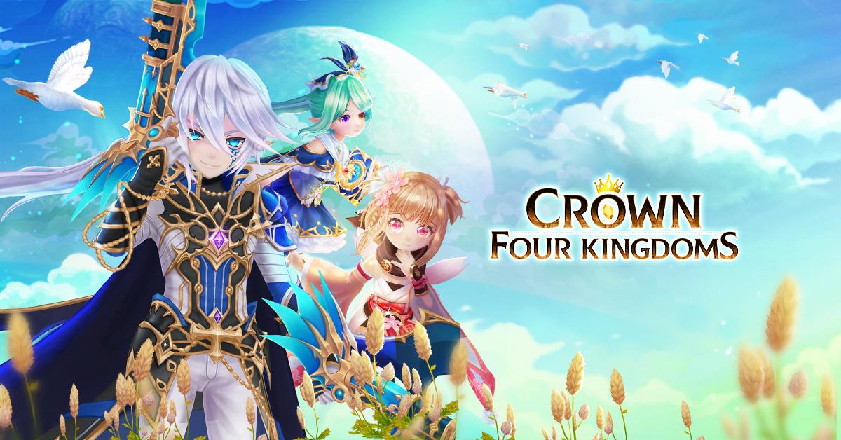 Crown Four Kingdoms | Pre-register for fantasy battles MMORPG